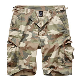 Brandit Shorts BDU Ripstop light woodland