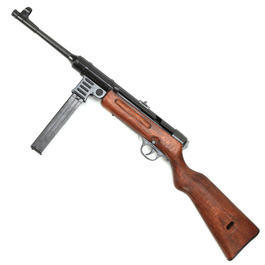 Modell-Waffen - MP41 Dekomodell aus Metall mit Holzschaft