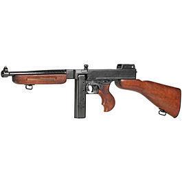 Dekowaffen - Thompson M1A1 Mafia Maschinengewehr Deko