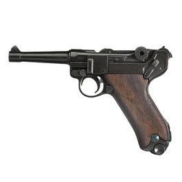 Modellwaffen - Luger P08 Parabellum 1898 Pistole Deko