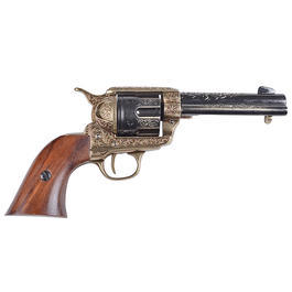 Colt Peacemaker 45er messingfarben Deko