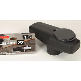 Paintball Markierer - Low Profile Cyclone Munitionsbox/Hopper für X7 und A-5