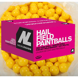 Gotcha - New Legion HAIL Paintballs .68 2000er Karton