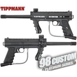 Gotcha - Tippmann 98 Custom PS Ultra Basic .68 Markierer schwarz