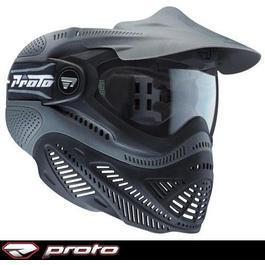 Paintball Gun - Proto Maske Switch FSschwarz Thermal Glas