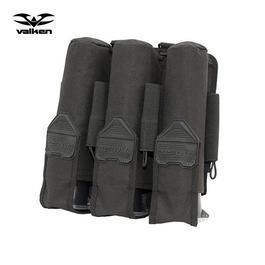 Loadertasche Valken V-TAC 3+4 Pot Tactical schwarz
