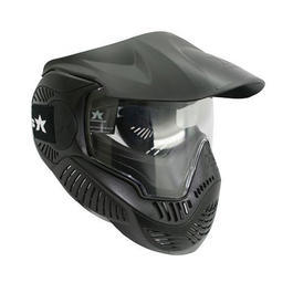 Paintball Maske Sly Annex MI-3 Single Glas schwarz