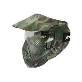 Paintball Maske Annex MI-7 Thermal Glas woodland
