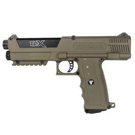 TiPX .68 Tippmann Paintball Pistole dark earth