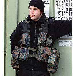 Tactical Weste I, flecktarn