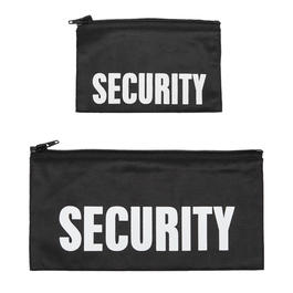 R�ckenpatch mit Zipper Security