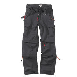 Trekking-Hose, schwarz