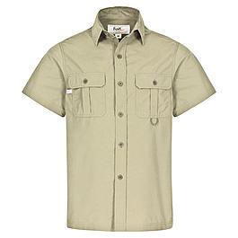 Ausrüstung - Outdoor Hemd, khaki, Kurzarm