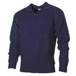 Pullover Troyer marine
