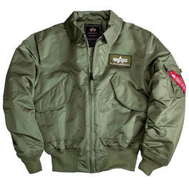 CWU-45/P Fliegerjacke Alpha Industries, oliv