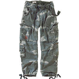 Airborne Vintage Trouser Surplus, nightcamo stonewashed