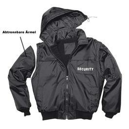 Security Blouson, schwarz