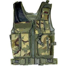 Survivalmesser - Fidragon Tactical Weste, Einsatzweste woodland