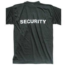 Security T-Shirt, schwarz