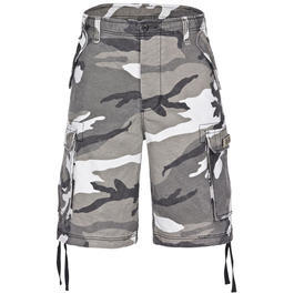 Paratrooper Shorts washed urban