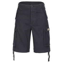 Paratrooper Shorts washed schwarz