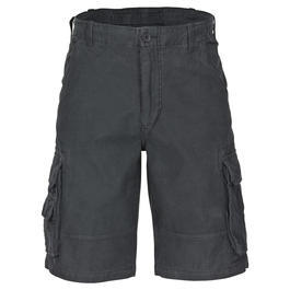 Shorts Aviator satin schwarz