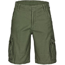 Aviator Shorts washed, oliv