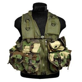 Einsatzweste - US Einsatzweste Tactical Mil-Tec, US-Woodland