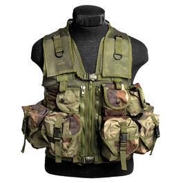 Einsatzweste - US Einsatzweste Tactical Mil-Tec, CCE-Tarn