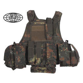 Einsatzweste - Ranger Taktikweste flecktarn