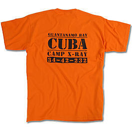 T-Shirt Cuba Camp X-Ray, MMB, orange