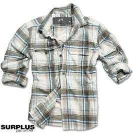Wood Cutter Shirt Surplus, braun karo