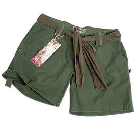 Mil-Tec Army Shorts Woman, oliv