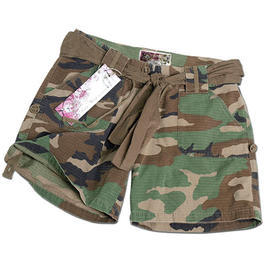 Mil-Tec Army Shorts Woman, woodland