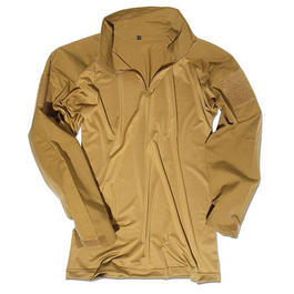 Tactical Feldhemd Combat Shirt Mil-Tec, coyote
