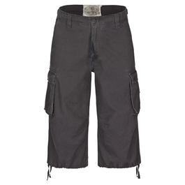 Mil-Tec Air Combat 3/4-Short, schwarz
