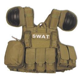 Swat Weste - Combat Weste MFH coyote