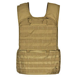 MFH Weste Molle II mit Futter, coyote