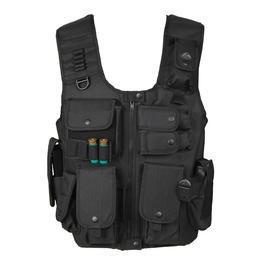 Swat Weste - Fidragon SWAT Weste, Einsatzweste schwarz