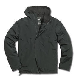 Windbreaker mit Zipper Surplus, schwarz