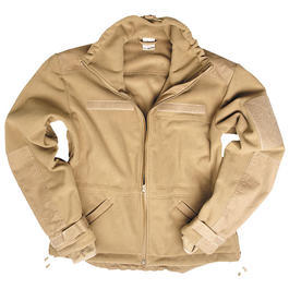 Windproof Fleece Jacke Mil-Tec, coyote