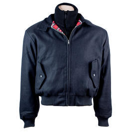 Harrington Winterjacke, schwarz