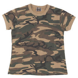 US-Army Ladies Shirt woodland