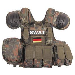 Swat Weste - Combat Weste MFH flecktarn