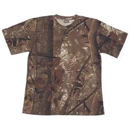 T-Shirt Tarnshirt hunter braun MFH