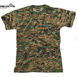 Classic Army T-Shirt Helikon Tex, USMC Digital Woodland