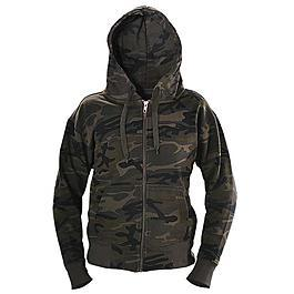 Rags Hooded Kids Sweatjacke, streetcamo