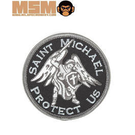 Mil-Spec Monkey Saint Michael Protect Us Patch Swat