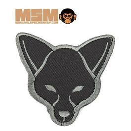 Mil-Spec Monkey Fox Head Patch ACU-Dark