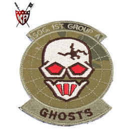 King Arms Ghosts SOG Team Patch Arid
